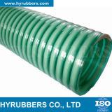 高圧PVC適用範囲が広い螺旋形の吸引のホースPVC水吸引のホース