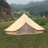 Hochleistungsbaumwollsegeltuch-Rundzelt BRITISCHES LuxuxGlamping Zelt