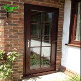 Деревянные двери из алюминия цвета для продажи
