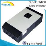 inversor híbrido solar de 2400W 24VDC-220VAC con 50A-PWM el regulador solar PS-3kVA