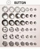 의류를 위한 다이아몬드 단추, 아기 단추, 황소 Hom 모조 단추 또는 의복 또는 단화 또는 부대 또는 케이스