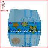 Revêtements jetables en gros nouveau-nés de couche de bébé de couche-culotte de la Chine