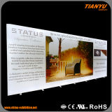 Frameless che fa pubblicità al contenitore chiaro di tessile LED