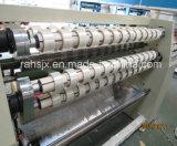Hochgeschwindigkeits-OPP Kleber-Typen, die Rückspulen-Maschinen-Zeile aufschlitzen