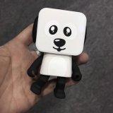 소형 귀여운 지능적인 개 로봇 무선 Bluetooth 후두 스피커