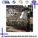 Material de construção em aço galvanizado revestido de flores de cores a partir de Shandong China PPGI DA BOBINA
