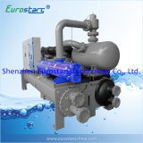 Doppio Compressor Water Chiller con Heat Recovery Water Source Heat Pump