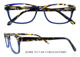 L'acetato superiore del commercio all'ingrosso di modo incornicia i bei occhiali del telaio dell'ottica