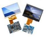 Módulo pequeno personalizado do Tn LCD do indicador transparente