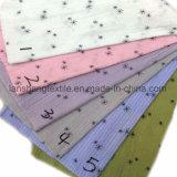 Tissu de l'impression 100%Cotton pour l'écharpe de jupe de robe de vêtements d'enfants