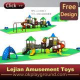 子供の世界の安全な屋外の遊園地のスライド(X1501-11)