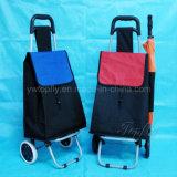 Praktischer Reisewagen & Gepäck mit Umtischtaschen