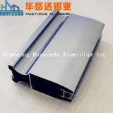 Profil en aluminium de anodisation de châssis de fenêtre de tissu pour rideaux