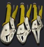 Прямые плоскогубцы челюстей фиксируя, с ручкой TPR