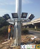 돛대 플러드 전등 기둥 다각형 높은 LED 램프가 25m에 의하여 직류 전기를 통했다