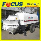 80m3/H Bomba de concreto de gasóleo, a bomba de Concreto Reboque Diesel Portátil