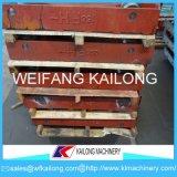 Linha de molde carro usado da alta qualidade da pálete para a fundição