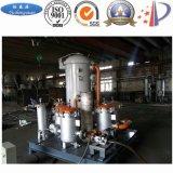 Contaminación blanca que recicla el equipo al aceite combustible