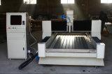 Máquina de grabado de mármol de piedra del CNC de la lápida mortuoria del metal del granito