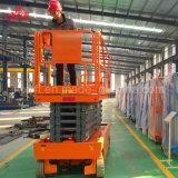 La potencia de batería eléctrica caliente de la alta calidad de la exportación los 6-16m de China automotora Scissor la elevación de la plataforma con precio de venta directo de la fábrica