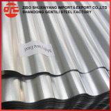 Лучшее качество цинковым покрытием гофрированный лист