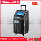 Altoparlante mobile del teatro di Shinco 15 '' con lo schermo CD del USB Bluetooth
