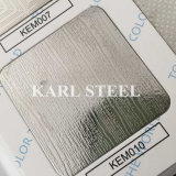 Blatt 304 Edelstahl-silberne Farbe geprägtes Kem010