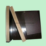 La película impermeable del negro de la base de la madera dura del pegamento hizo frente a la madera contrachapada