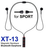 La radio dei trasduttori auricolari di Xt-13 Bluetooth mette in mostra la cuffia avricolare di Earbuds con la cuffia stereo V4.3 del Mic per il iPhone Smartphones Android con l'imballaggio al dettaglio