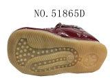 No 51865 тип PU ботинок младенца вскользь напольный верхний славный