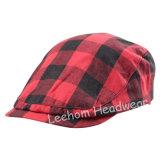 Check Fashion Trilby Golf Bonnet IVY Béret