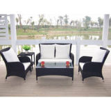 5 Pieces Deep Rattan Seating Group avec coussin (WS-06036)