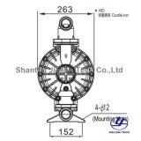 Bml-40d BSPT Matériau en fonte ductile Pompe à membrane pour l'industrie céramique