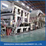 Máquina de la fabricación de papel del cartón de papel que estría del papel usado Occ