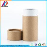 Fuerte de cartón de tubo redondo de papel Kraft Caja con tapa