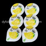 Yogur desechable Copas de aluminio lacre del papel de las tapas