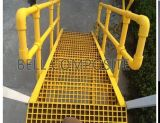 Fibra de vidro Handrailing, corrimão de GRP/FRP, cerca, passos de escada, tampa, Rejilla De Fibra De Vidrio