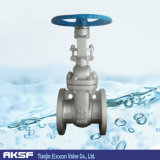 ANSI Wedge Type Non Rising Stem Flange Gate Valve di API600/in Carbon Steel/Stainle Steel per Water, Gas, Oil, Stem