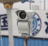 4000m PTZ de infrarrojos invisible vigilancia de la cámara de seguridad de imagen térmica