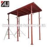 広州のコンクリートスラブの型枠サポートポストによって塗られる鋼鉄支柱