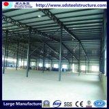 Helles Stahlkonstruktion-Werkstatt-Gebäude für Industrie-Lager