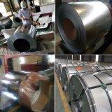 el material de hoja de 0.15m m que cubría galvanizó la bobina de acero en duro lleno