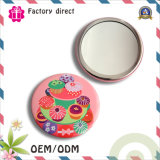 Paper Doll Girls Pocket Hand Cosmetic Mirrors Laptop Round Cartoon Make-up Mirror