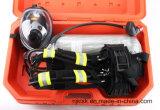 Matériel Scba de lutte contre l'incendie de poids léger pour l'usage Emergency d'incendie