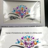 Белизна стикеров глаза партии кожи поставщика Китая безопасная обивает стикеры стороны драгоценностей тела (E01)