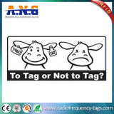 UHF RFID Ear Tags/Animals를 위한 Radio Frequency Identification ISO RFID Tags