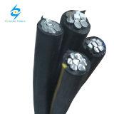 Cavo dell'alluminio di servizio isolato XLPE/PE del cavo di ABC 3*25+54.6