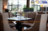 Cadeira de refeições simples e moderno Hotel Restaurant escura