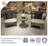 Hotel moderno mobiliario con silla de comedor con tapicería de tela (9178)