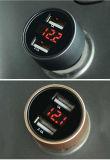 2 Toma de mechero 3.1A Dual USB cargador de teléfono móvil Dual USB Cargador USB inalámbrico para coche de alquiler de